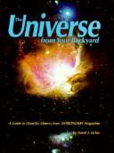 Cover of: The universe from your backyard | David J. Eicher