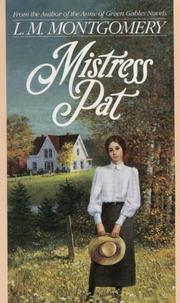 Cover of: Mistress Pat