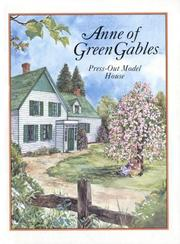 Cover of: Anne Of Green Gables Press-Out Model House (Press Out Activity Book)