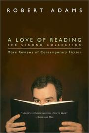 Cover of: A love of reading: reviews of contemporary fiction