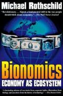 Cover of: Bionomics