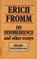 Cover of: On disobedience | Erich Fromm