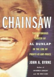 Cover of: Chainsaw | John A. Byrne