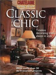 Cover of: Classic chic