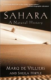 Cover of: Sahara