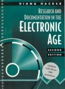 Research and documentation in the electronic age by Diana Hacker