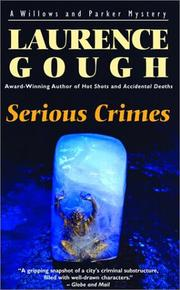 Cover of: Serious Crimes (Willows and Parker Mysteries)