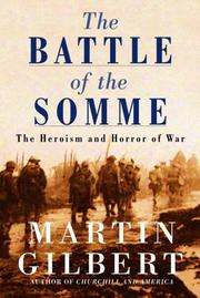 Cover of: The Battle of the Somme | Martin Gilbert