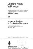Cover of: Numerical simulation of combustion phenomena