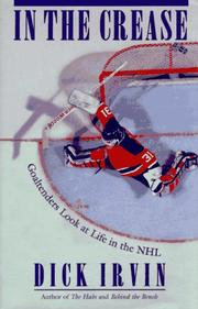 Cover of: In the Crease