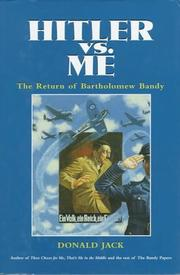 Cover of: Hitler Versus Me: The Return of Bartholomew Bandy (Bandy Papers)