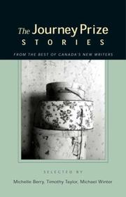 Cover of: The Journey Prize Stories 15: Short Fiction from the Best of Canada