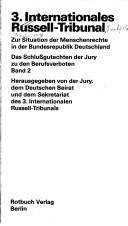 Cover of: Internationales Russell-Tribunal. | Internationales Russell-Tribunal.