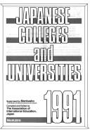 Cover of: Japanese colleges and universities