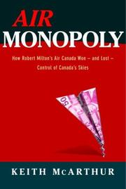Cover of: Air Monopoly | Keith Mcarthur