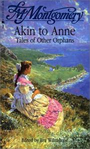 Cover of: Akin to Anne | Lucy Maud Montgomery