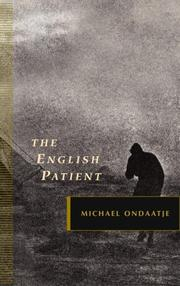 Cover of: The English Patient | Michael Ondaatje