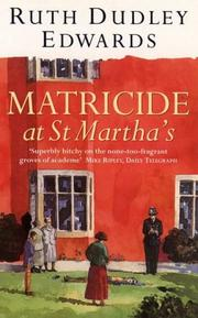 Cover of: Matricide at St. Martha's