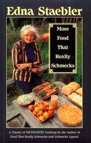 Cover of: More Food That Really Schmecks