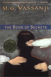 The book of secrets by M. G. Vassanji