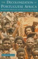 Cover of: decolonization of Portuguese Africa | Norrie MacQueen