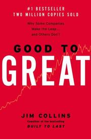 Cover of: Good to Great: Why Some Companies Make the Leap...and Others Don't