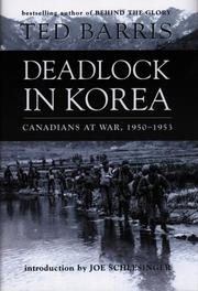Cover of: Deadlock in Korea