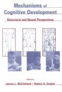 Cover of: Mechanisms of cognitive development