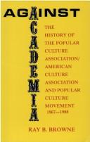 Cover of: Against academia