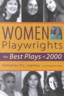 Cover of: Women playwrights |