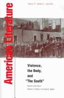 Cover of: Violence, the body, and The South |