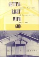 Cover of: Getting Right With God