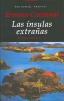 Cover of: Las Insulas Extranas / The Strange Isles: Memorias 2 / Memoirs 2