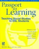 Cover of: Passport to learning