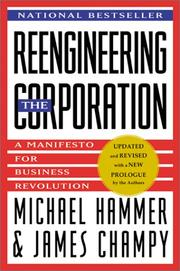 Cover of: Reengineering the Corporation | Michael Hammer