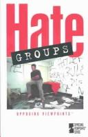 Cover of: Hate Groups | Mary E. Williams