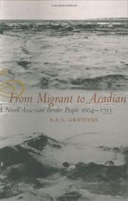 Cover of: From Migrant To Acadian