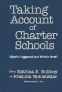 Cover of: Taking account of charter schools