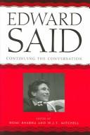 Cover of: Edward Said