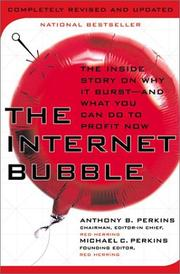 Cover of: The Internet Bubble | Anthony B. Perkins, Michael C. Perkins