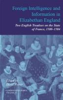Cover of: Foreign Intelligence and Information in Elizabethan England