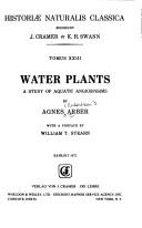 Cover of: Water plants