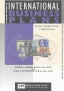 Cover of: A Short Course in International Business Plans | Robert L. Brown