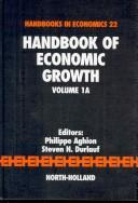 Cover of: Handbook of economic growth |
