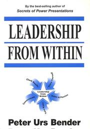 Cover of: Leadership from Within