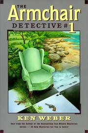 Cover of: The armchair detective #1 | K. J. Weber