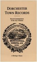 Cover of: Dorchester Town Records (Massachusetts) |