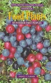 Cover of: Food plants of interior First Peoples