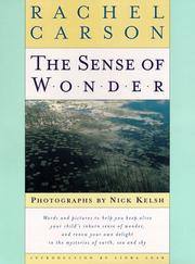 Cover of: The sense of wonder