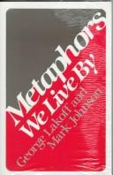Cover of: Metaphors we live by